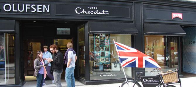 Chocolade hotel