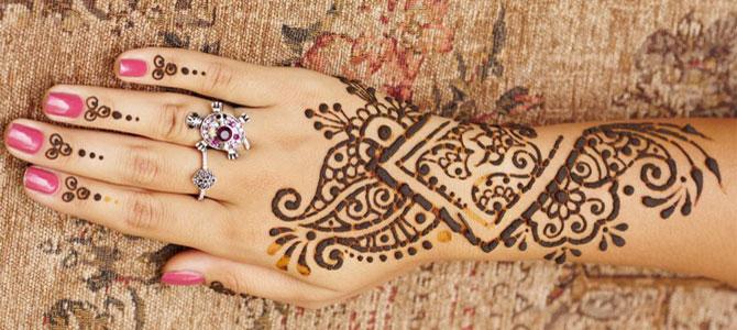 henna tatoeage vakantie