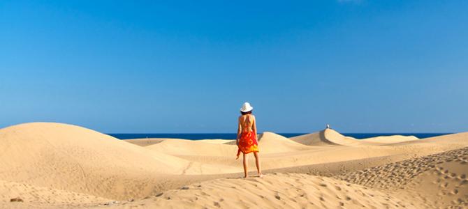 vrouw bikini strand