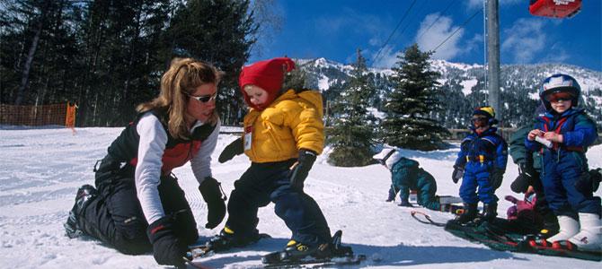 1ouder skivakantie