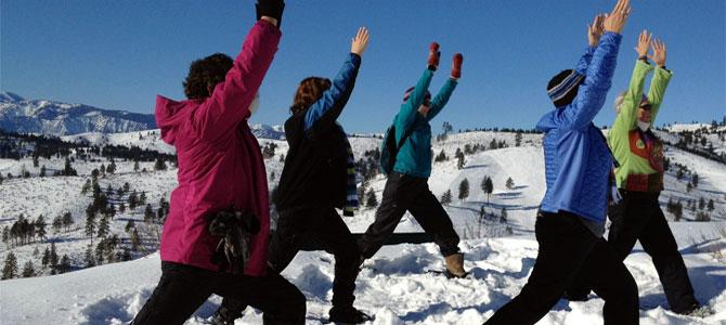 snowga yoga wintersport