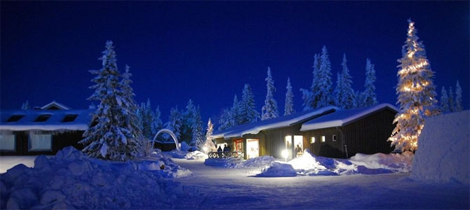 lapland witte kerst