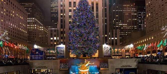 10 mooiste kerstbomen