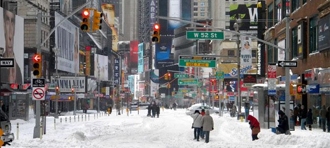 sneeuwstorm new york