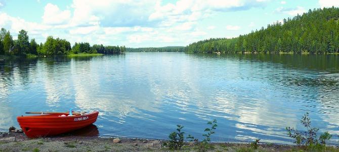 Lake Saxen Zweden