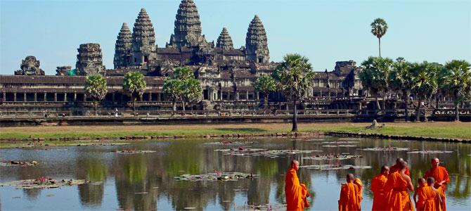 Singlereis Cambodja