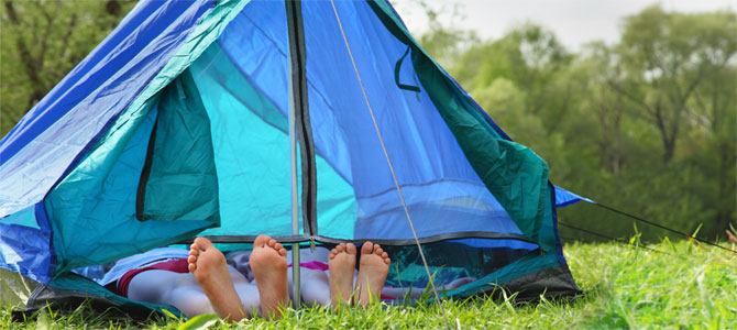 seks camping tent
