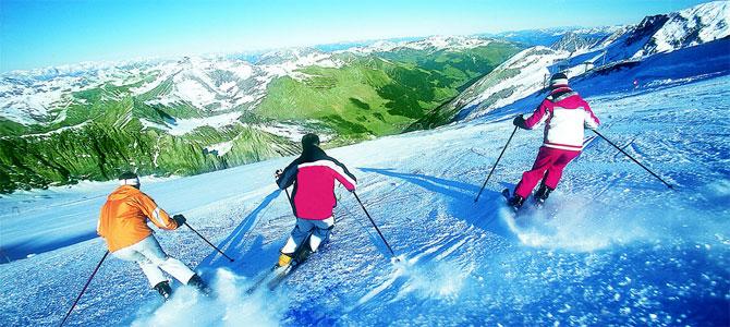skiën herfst gletsjer