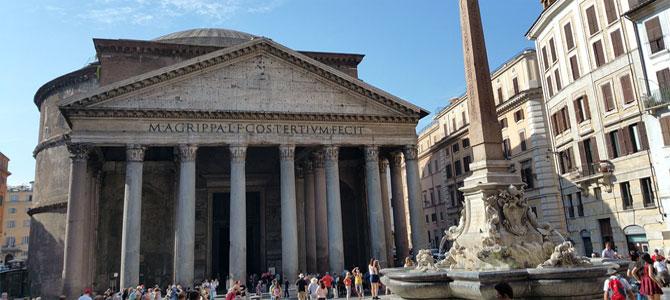 betalen pantheon rome