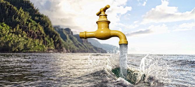 drinkwater vakantie