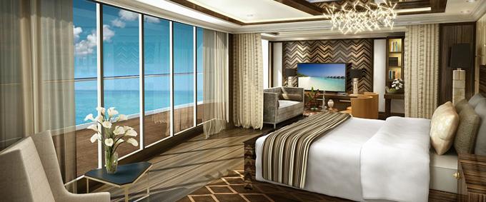meest luxe cruise ter wereld