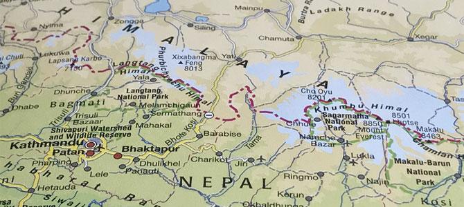 himalaya trekking nepal