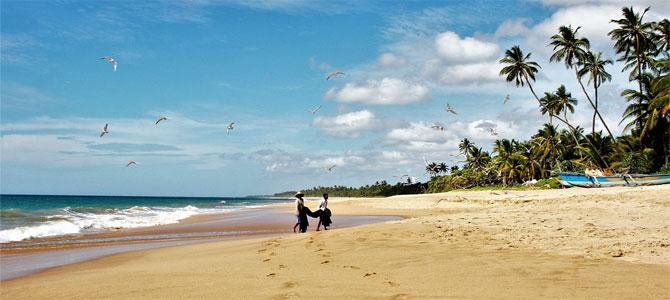 Vakantie stranden sri lanka