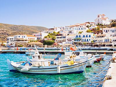 Groepsreis Griekenland Eilandhoppen; Griekse Oudheid, witte dorpjes en blauwe zee